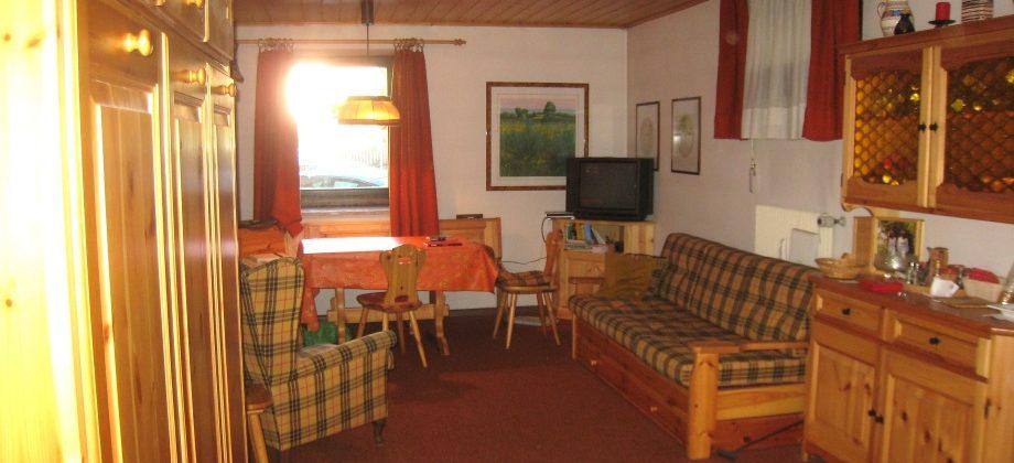 Gossensass: große möblierte Einzimmerwohnung